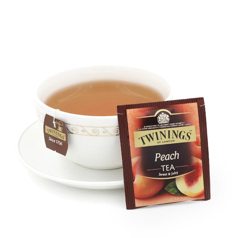 袋 25 2g 蜜桃果香红茶 川宁袋泡茶茶包 波兰进口