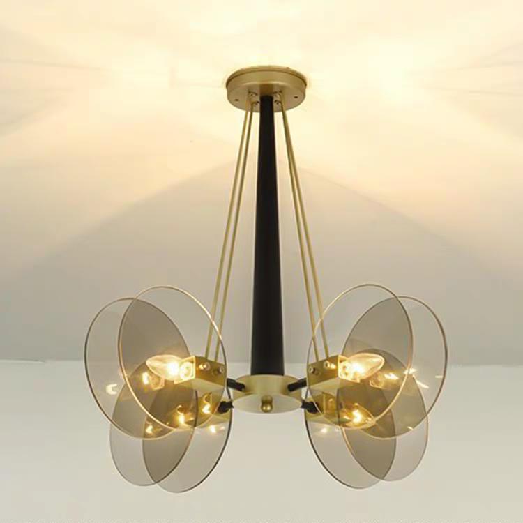 后现代创意玻璃时尚客厅吊灯轻奢艺术卧室书房设计师样板房吊灯