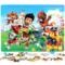 幼儿童拼图木质宝宝男孩女孩2-3-4-5-6-7岁8益智力平图玩具100片