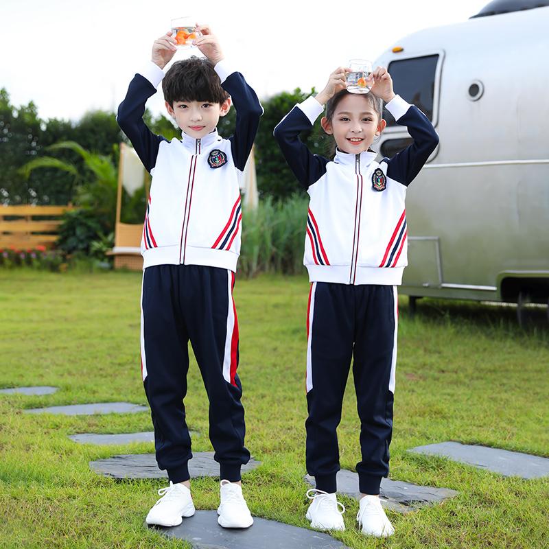 西域童话幼儿园园服深圳中小学生校服班服春秋季亲子装运动会套装