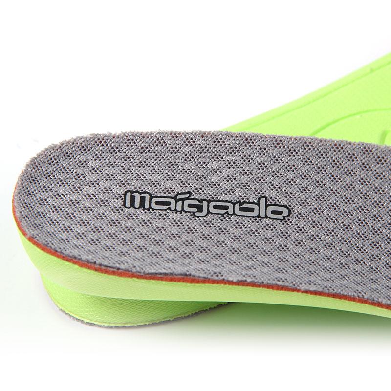 迈高乐 网布透气防臭脚增高鞋垫女全垫休闲鞋增高运动全垫男1/2cm