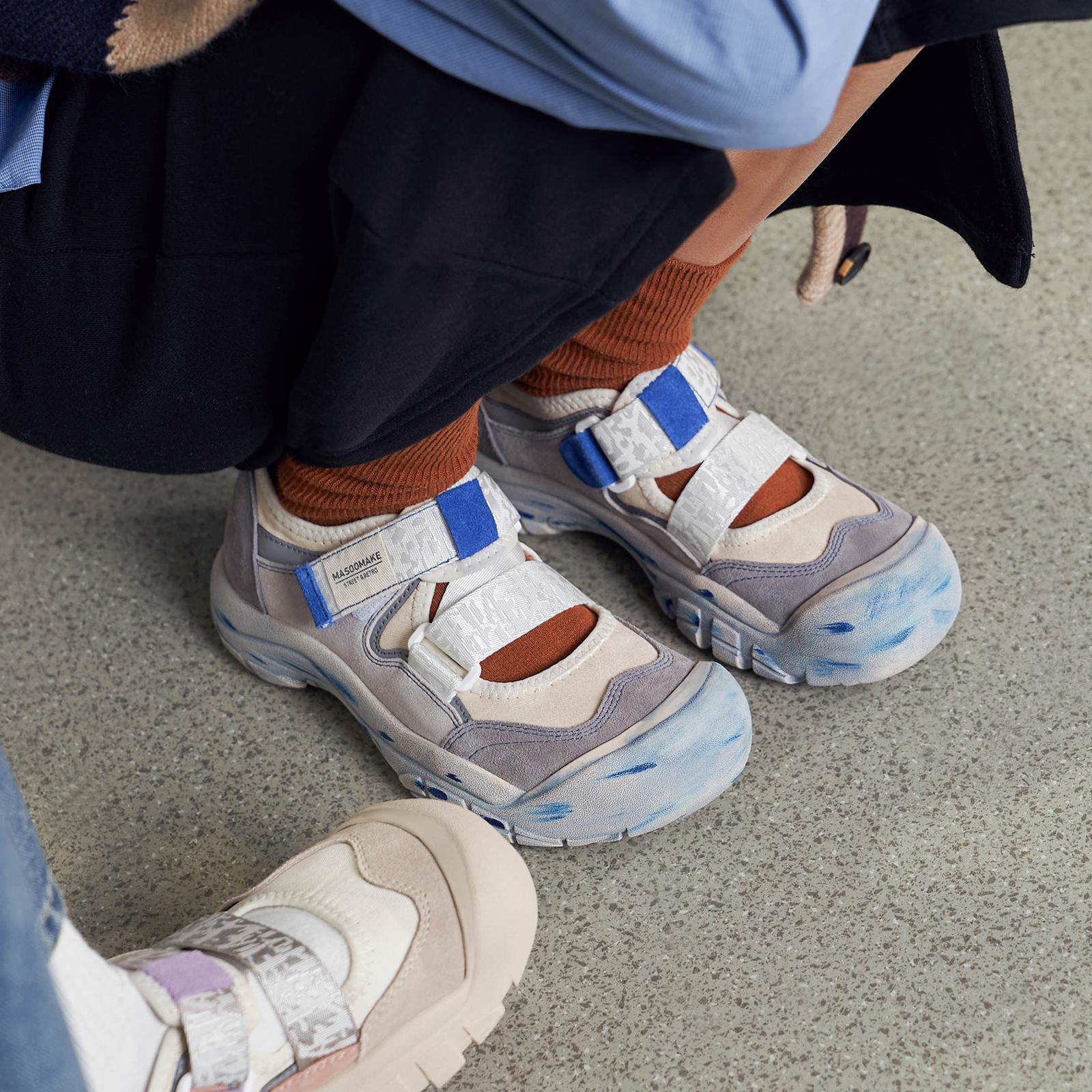 玛速主义 丑萌魔术贴老爹鞋女夏大头鞋ins潮网红休闲娃娃鞋运动鞋 No.3