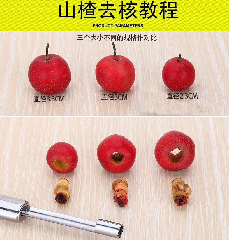 红枣去核器去枣核神器水果苹果去籽工具家用多功能樱桃山楂取心器