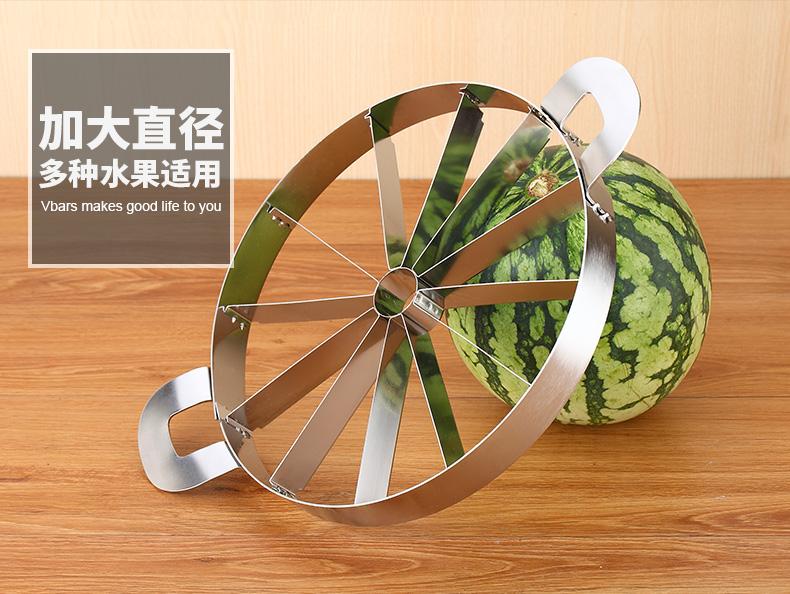切西瓜神器分割器开西瓜切片器多功能切水果刀工具特大号加厚家用