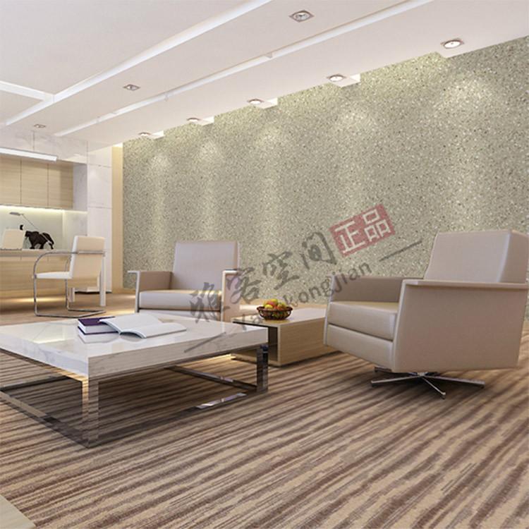 棕色灰色水磨石砂砾墙纸 工业风格复古服装店客厅背景墙壁纸 LOFT