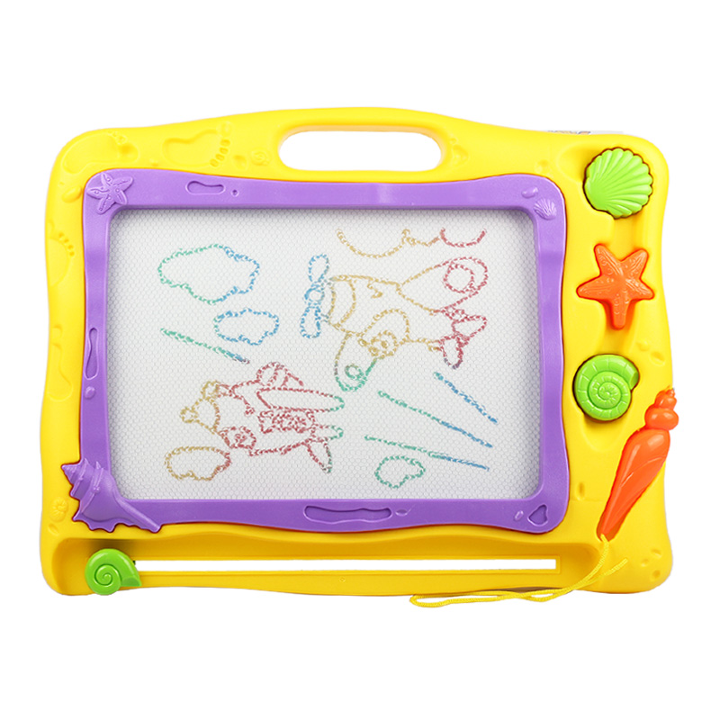儿童画画板磁性写字板宝宝婴儿1-3岁2幼儿小孩玩具磁力彩色涂鸦板