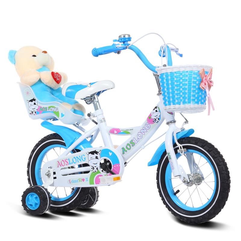 儿童自行车2-3-4-6-7-8-9-10岁小孩单车女孩男宝宝童车公主脚踏车