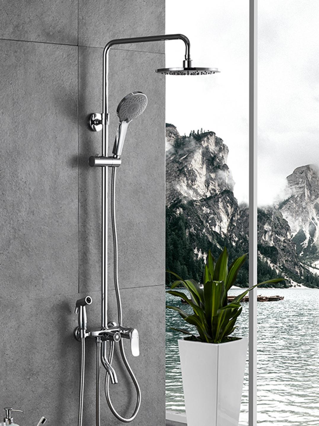 九牧卫浴 淋浴花洒套装家用 喷枪花洒喷头卫生间增压沐浴器36341