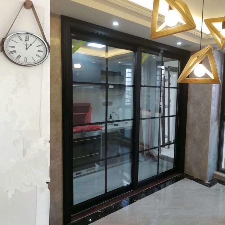 85A(足1.2mm)钛镁铝合金推拉门/吊趟门/移门/玻璃吊轨门/厨房门