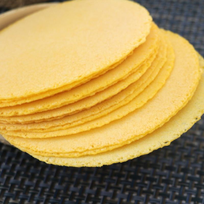 孕妇代餐零食小吃薄脆玉米饼高钙无糖精添加休闲食品传统手工粗粮