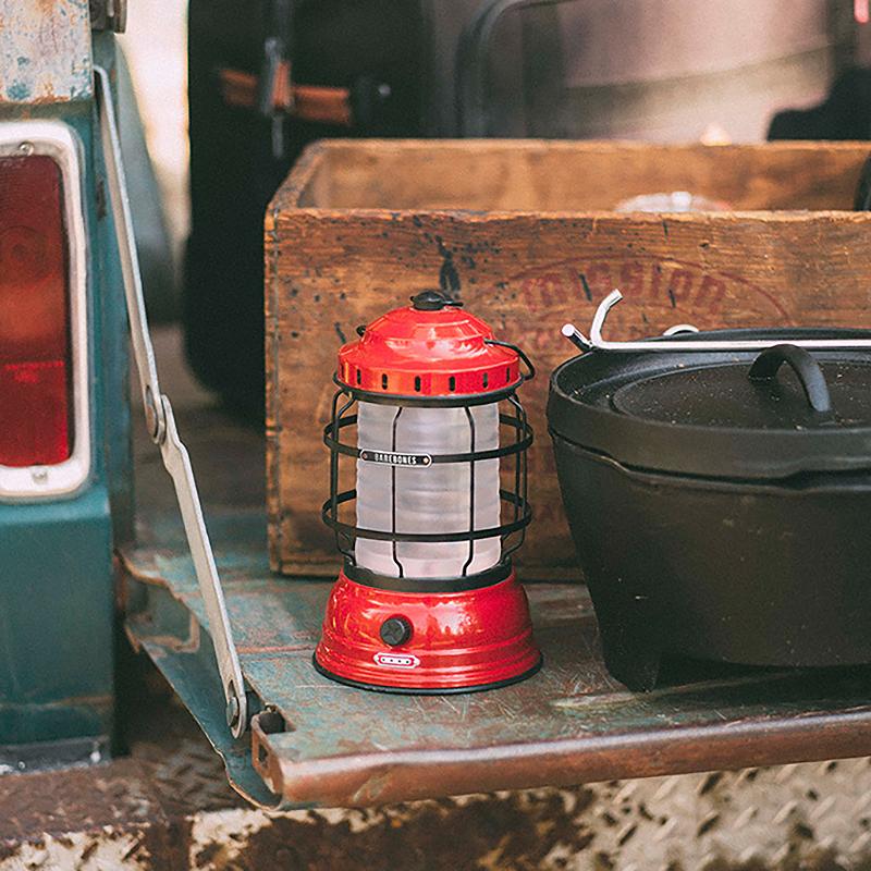 马灯 LED 美式轻奢复古户外可充电露营灯家居野餐手提 BAREBONES 美国