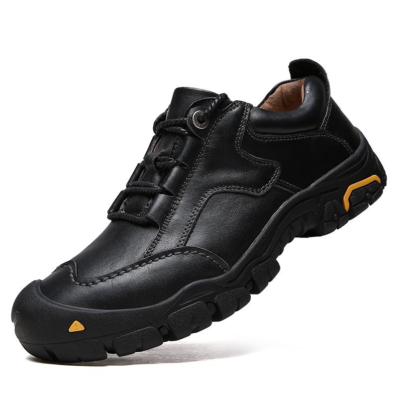 真皮户外鞋男鞋登山鞋防水防滑徒步鞋透气旅游鞋男爬山运动越野鞋