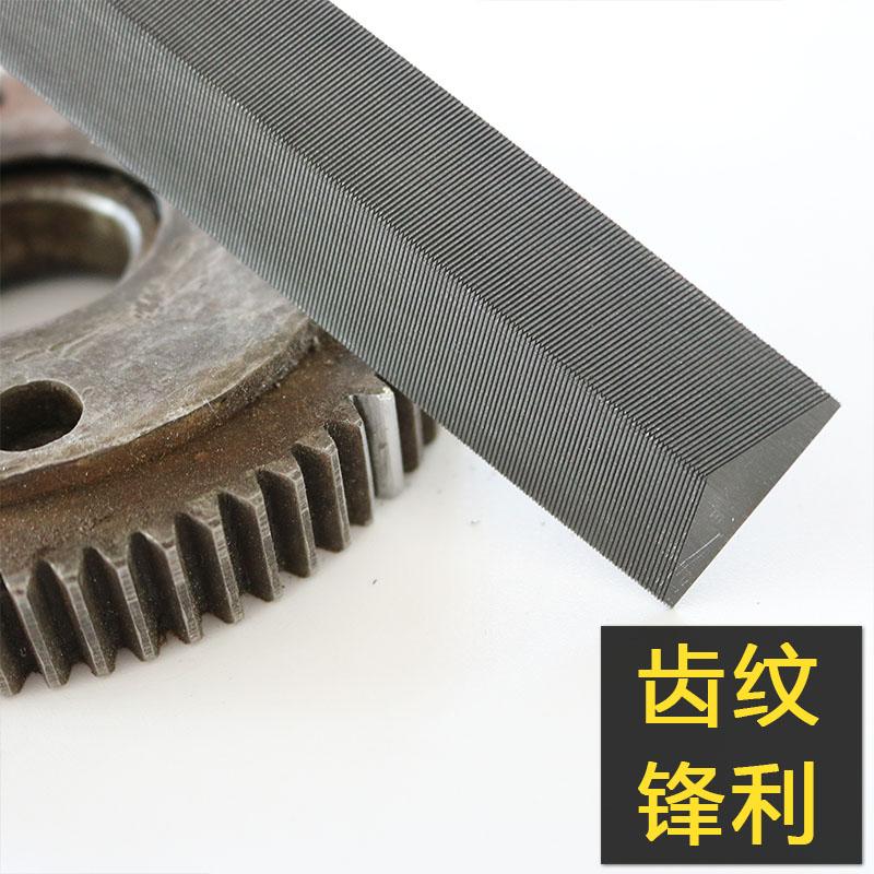 菱形锉刀 伐锯锉 锯锉 发锯锉 修边锉金属细齿三角锉木工整形挫