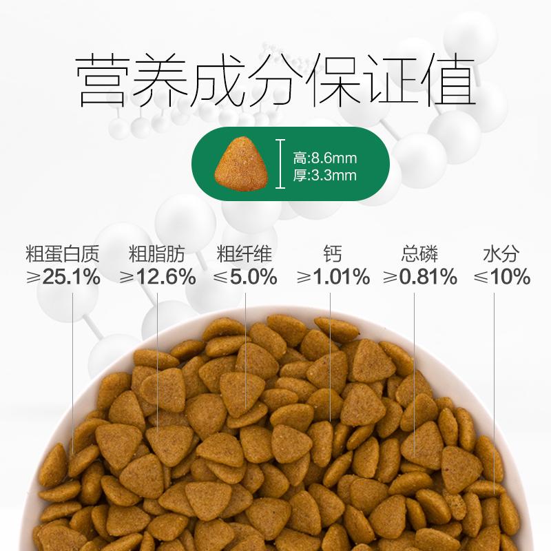 耐威克幼犬专用2.5kg5斤泰迪贵宾比熊博美雪纳瑞小型犬通用型狗粮优惠券