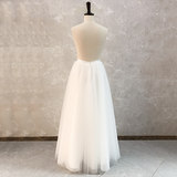 The new simple skirts Sen Department Puff mobile brigade beat Qi net veil bride wedding engagement birthday