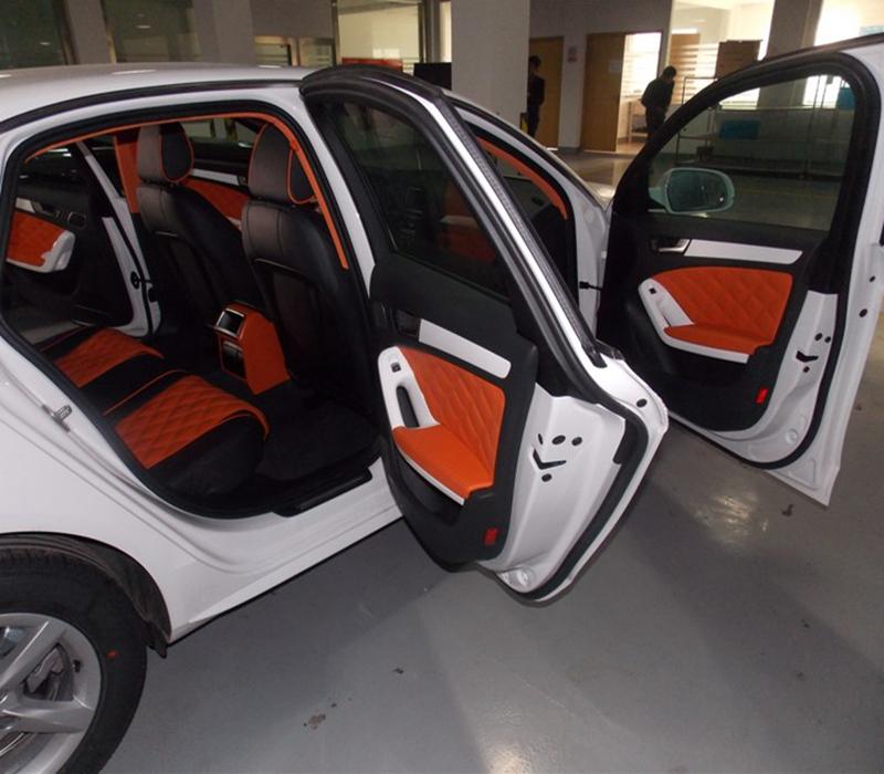 苏州汽车座椅包真皮实体店X1 A3 Q3 Q5 A4L A6L真皮座椅改装包皮