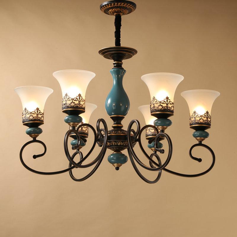 欧式灯饰奢华大气美式复古灯具