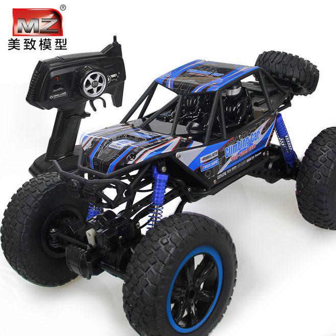 超大号遥控汽车越野车RC四驱充电动高速攀爬车赛车男孩儿童玩具车
