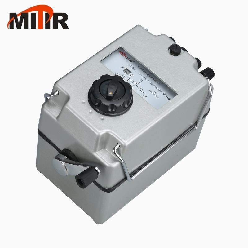 美佳ZC-8接地电阻测试仪/电表校对仪接地摇表0-100/1000Ω 包邮
