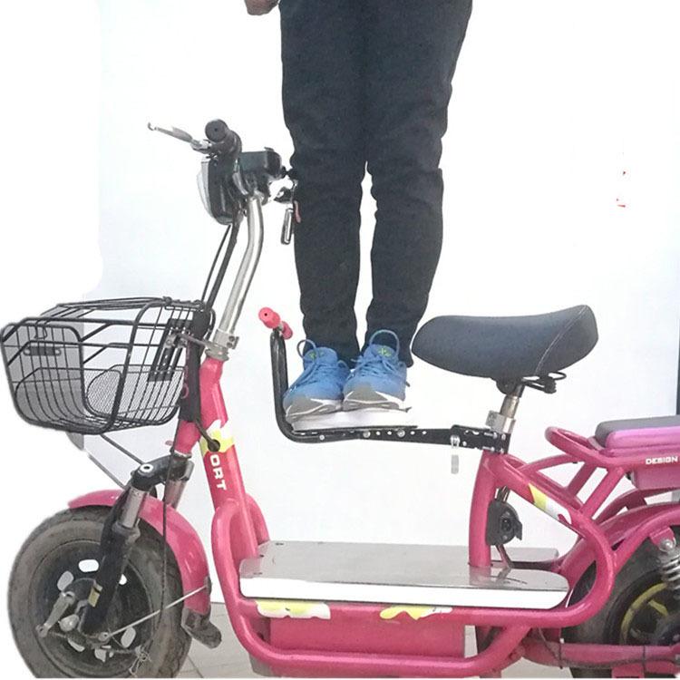 电瓶车前置儿童座椅可折叠电动自行车山地车婴儿小孩宝宝安全坐椅
