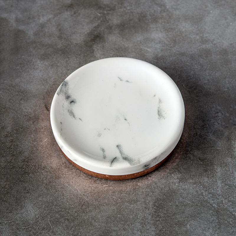 北欧式卫浴五件套 陶瓷简约刷牙杯漱口杯卫生间洗漱套装浴室用品