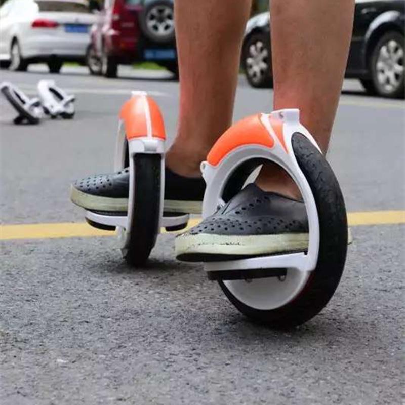 罗威X12风火轮 免充气PU静音分体式轨迹轮滑 hotwheel代步滑板