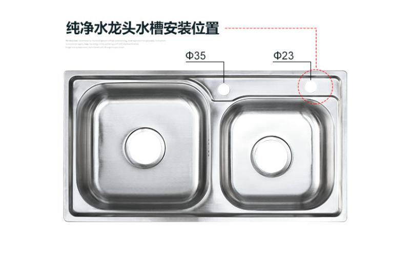 純水機 RO 分智水 2 分快接鵝頸龍頭不銹鋼廚房凈水機水龍頭 2 凈水器