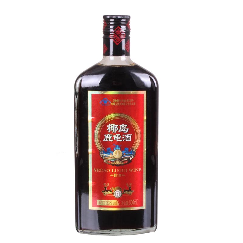10 椰岛鹿龟酒 500ml 瓶保健养生酒补酒海南特产酒男女士大人酒水