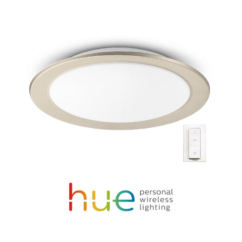 飞利浦led吸顶灯Hue智能现代简约睿晨客厅灯套装成套灯具套餐组合