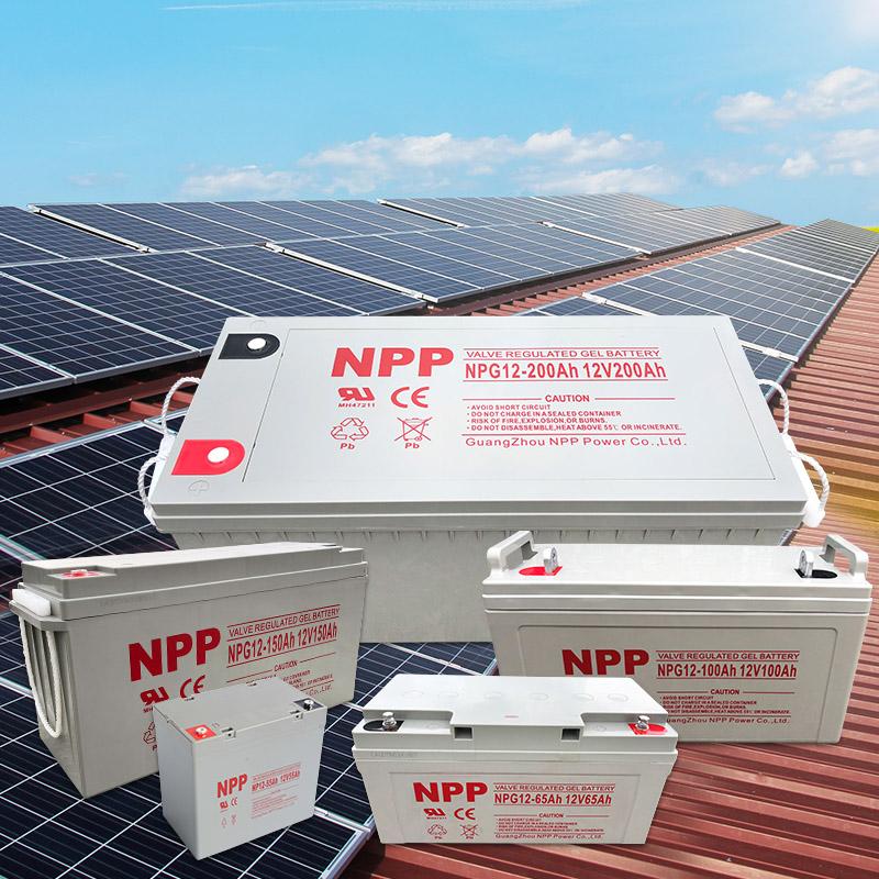 太阳能12v200ah铅酸胶体蓄电池100家用120大容量电瓶12伏150安65