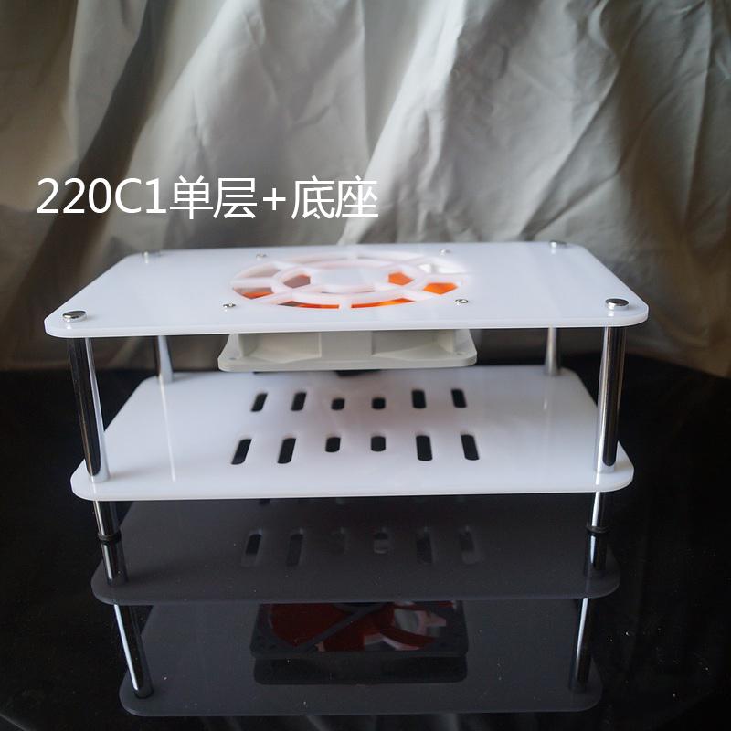 无线路由器散热风扇 光猫外置散热器 散热架 包含12cm静音风扇