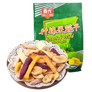 【买3发4】海南三亚特产零食 春光食品什锦果蔬干250g 综合蔬果干