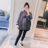 Maternity 2019 Winter New Korean A Lamb Fur Thickening Fashion Loose Maternity Fur Jacket