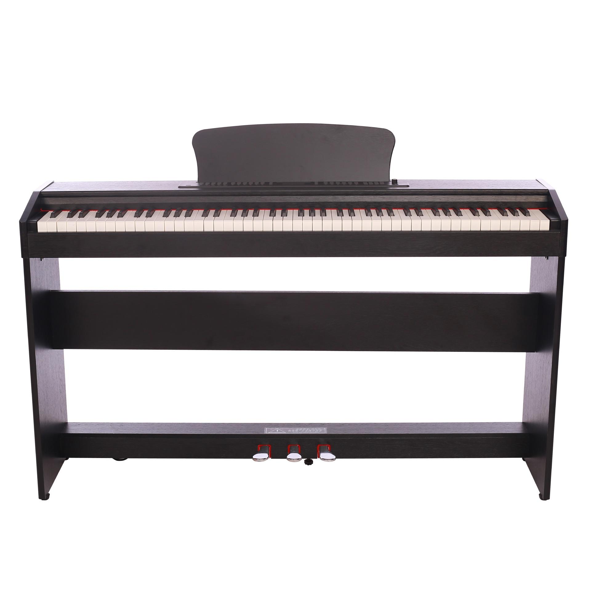 键重锤初学者考级专用琴行木纹款 88 数码电子钢琴大人电钢琴 806