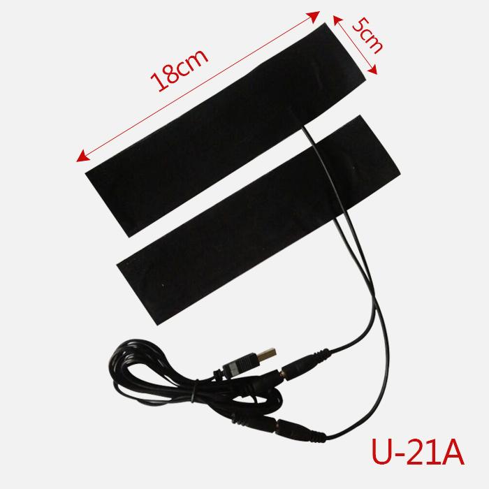 USB 加热片 暖手鼠标垫 暖脚鞋 发热片 DIY发热芯片 发热膜 5V