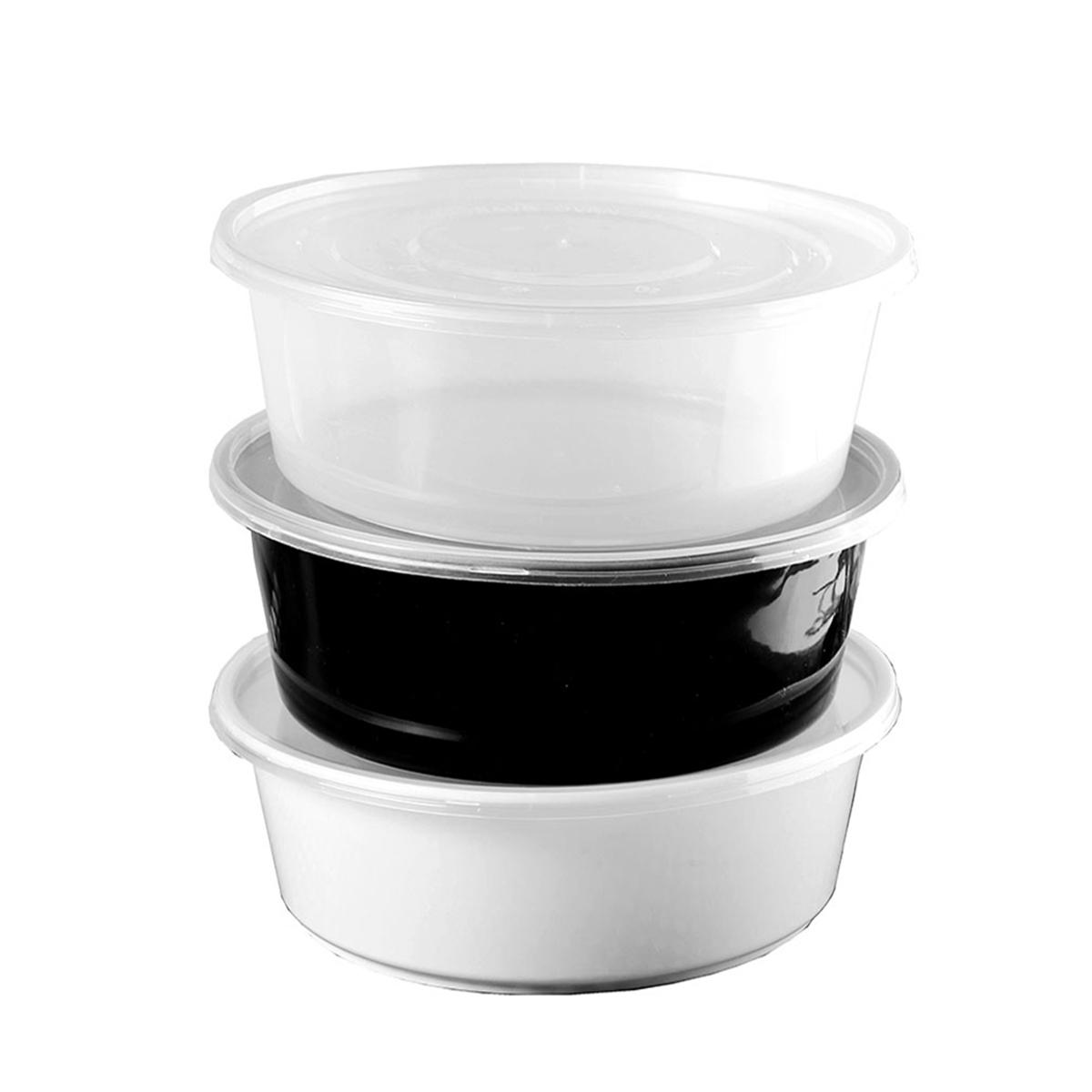 圆形2500ml一次性餐盒带盖水煮鱼碗龙虾碗干锅冒菜打包盒益安
