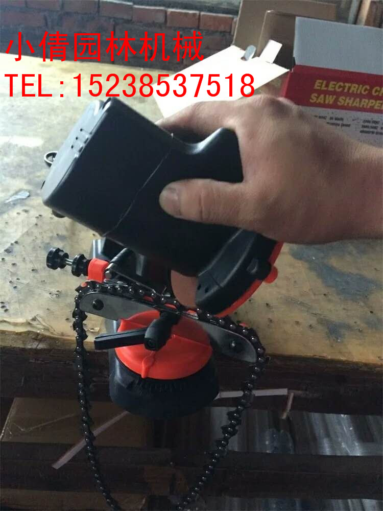 厂家直销优质油锯电锯链条磨链机磨刀机磨齿机砂轮机锯链磨链器