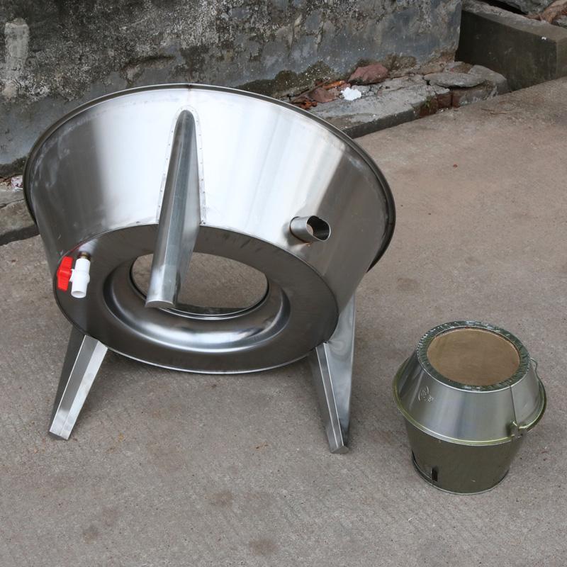 世厨90cm大型木炭烤鸭炉双层烤鸡炉脆皮五花肉吊烤炉商用烤肉机器