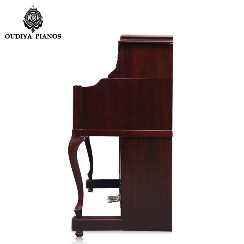 键专业演奏家庭正品初学立式钢琴 88 全新进口 125 德国欧帝亚
