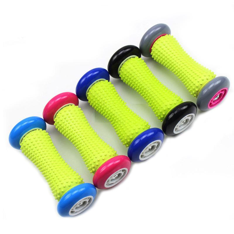 新型足底按摩器滚轮脚底按摩垫足疗脚垫指压板趾压板家用健身器材