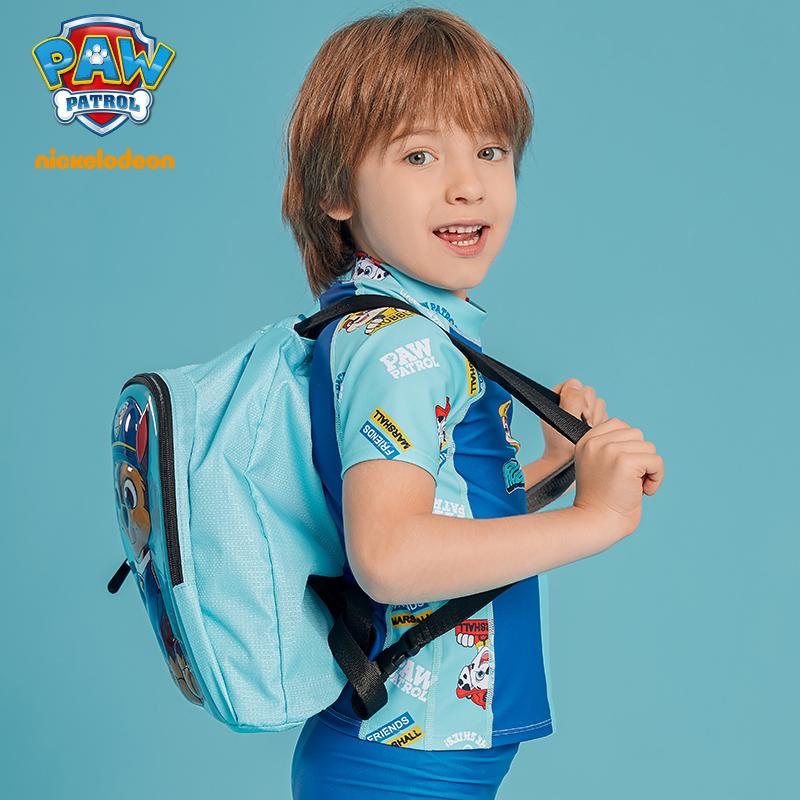 汪汪队儿童泳包干湿分离游泳包防水包男童游泳双肩背包卡通可爱