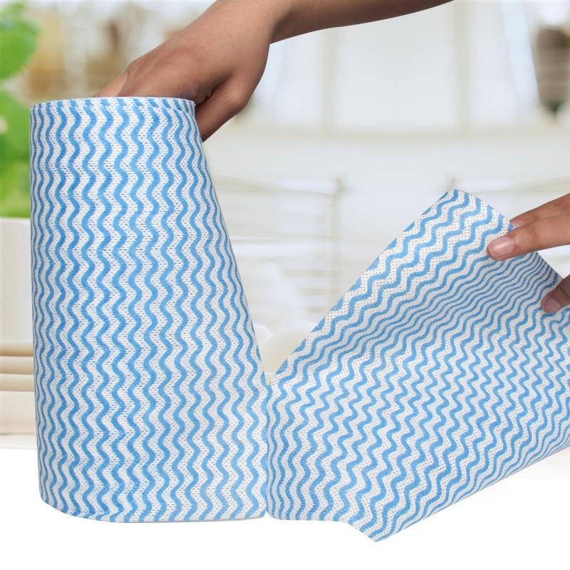 4卷送挂钩加厚厨房用纸吸油吸水卷纸擦油洗碗布纸巾厨房纸巾