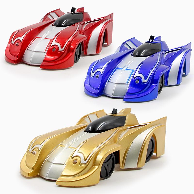 爬墙车遥控汽车玩具男孩赛车吸墙车充电动无线遥控汽车儿童玩具车