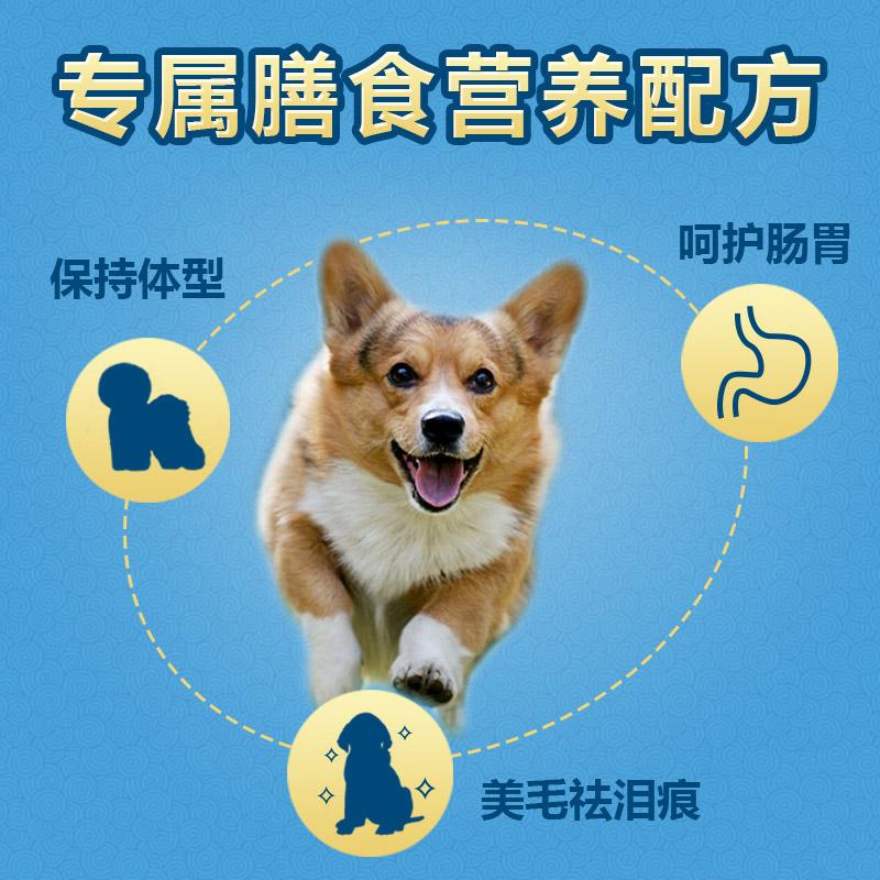 柯基犬狗粮科基专用粮幼犬奶糕成犬小型犬通用型美毛去泪痕2kg4斤优惠券
