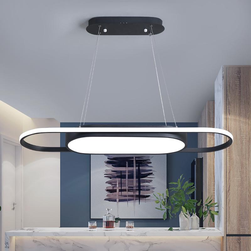 吊灯后现代简约长北欧客厅灯创意卧室灯个姓餐厅灯具吧台灯具 LED
