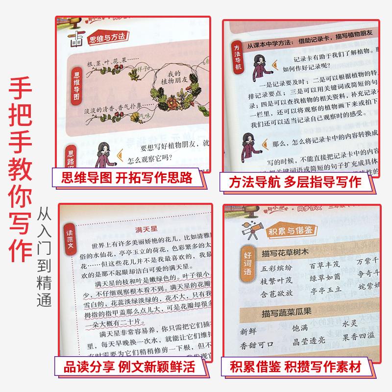 2021新版黄冈小状元同步作文三年级下册