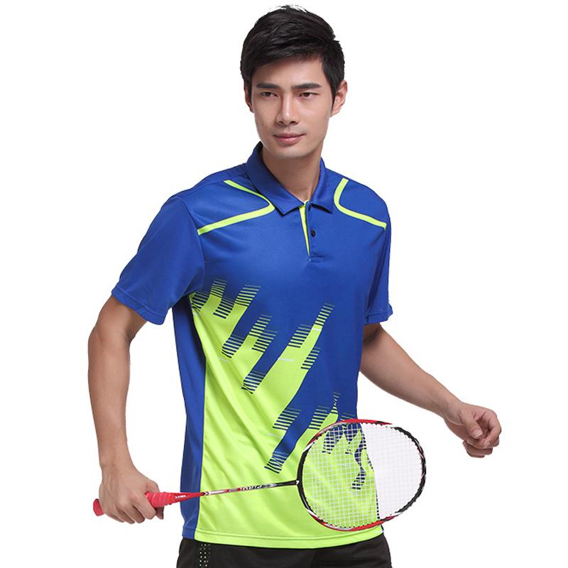 新款乒乓球服男女短袖上衣夏速乾透氣羽毛球排球服裝團購定製