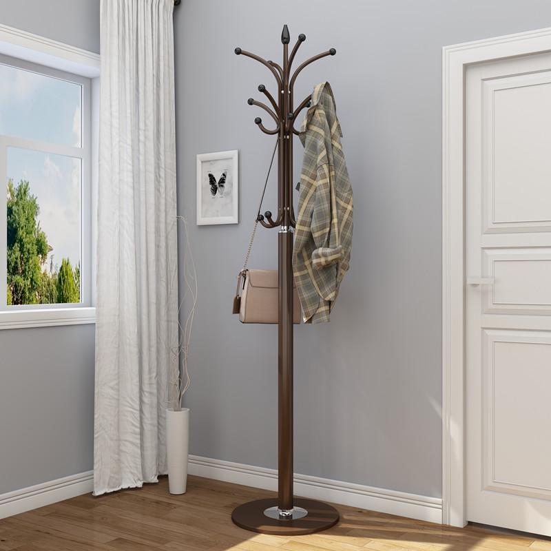 欧式理石衣帽架简约客厅落地搭衣架室内门厅大衣架卧室挂衣服架子