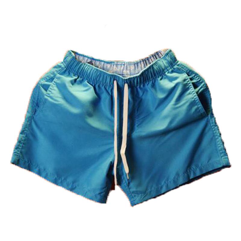 沙滩裤男速干五分裤夏季透气休闲裤运动裤短裤男士三分裤海边热裤