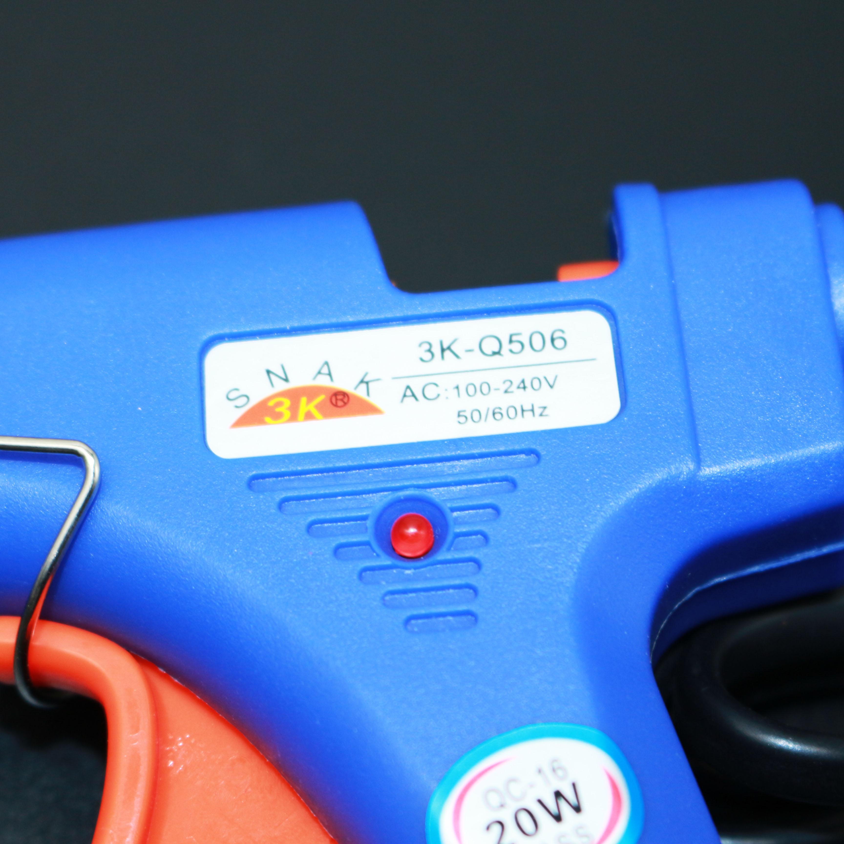 手工饰品 头花发饰蝴蝶结DIY工具迅雷20W热熔胶枪 送10支胶棒包邮
